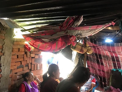 Home needing a roof
