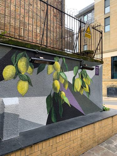 Montey's Mural - Harrogate