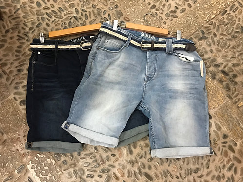 Männer Sweat Jeans Shorts