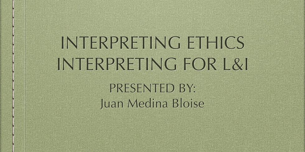 Ethics and L&I workshops. 4  DSHS CE Credits