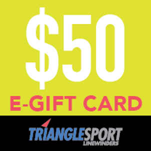 $50 Triangle Sport Gift Card - Not Available Immediately!