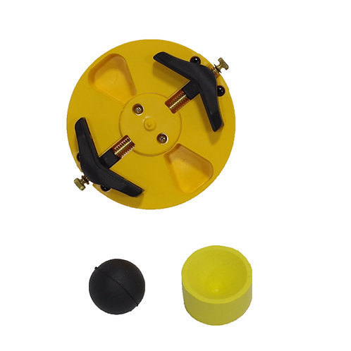 4050 - Chuck Assembly & Rubber Cover & Ball