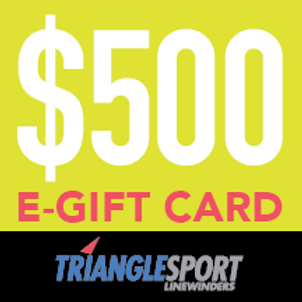 $500 Triangle Sport Gift Card - Not Available Immediately!