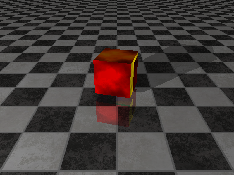 Cube with Textures