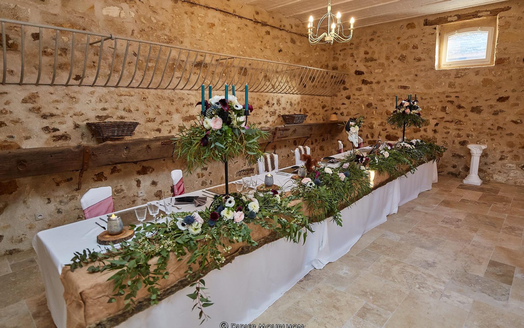 décoration mariage viking