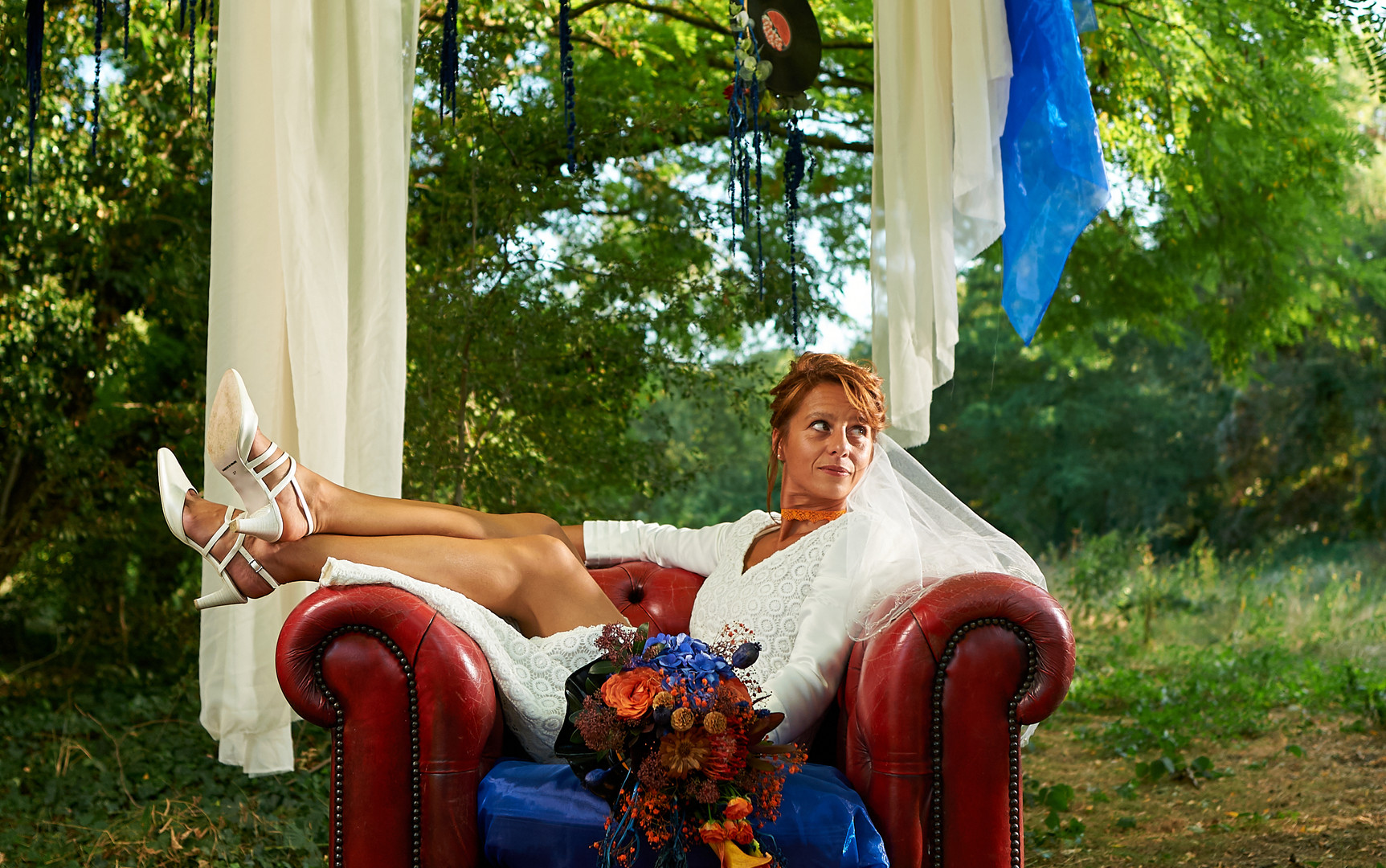 Shooting photo mariage Rock