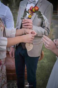 Rituel du cercle des mots pour une cérémonie de mariage