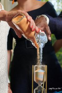 Rituel du sable cérémonie symbolique mariage engagement