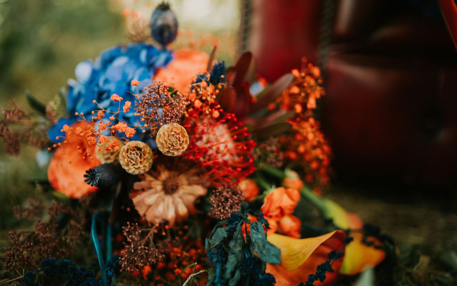 Bouquet Mariée Rock