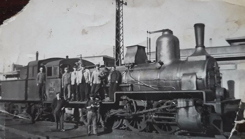 Dépot Locomotive à vapeur Saint Etienne