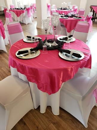 Ballroom in Hot Pink
