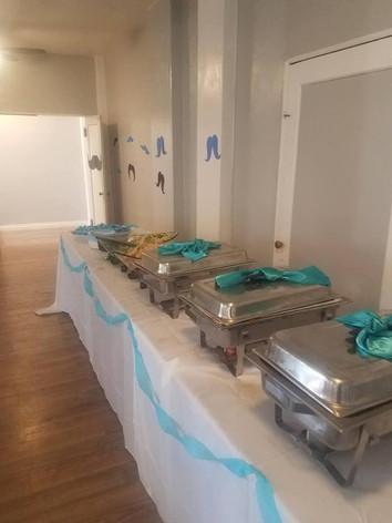 Ballrrom Buffet Set-Up