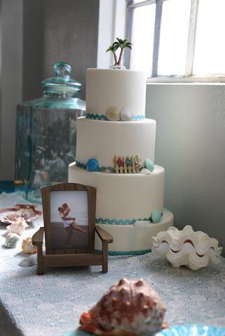 Ballroom Cake Table Under the Sea