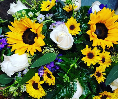 Sunflowers and lavender day