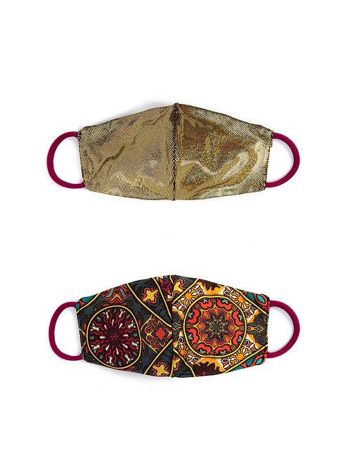 2 Cover Mask CALEIDOSCOPIO