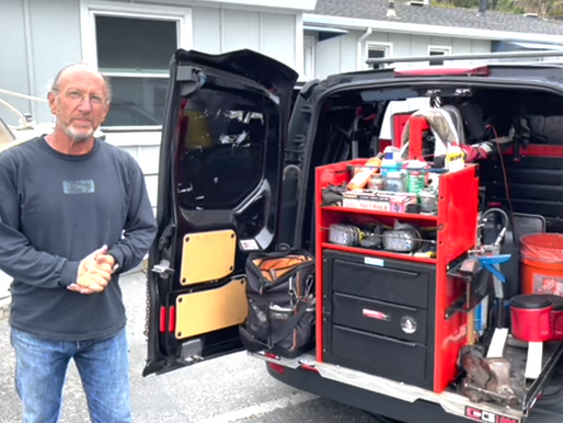 Travels with Charlie: Jeff's Mobile Shop for Doing Marine Work