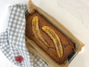 SPELT, Banana & Chocolate CAKE
