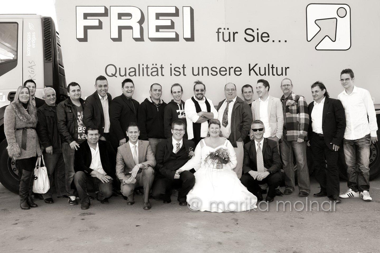 Hochzeitsfotograf Zürich Gruppenfoto