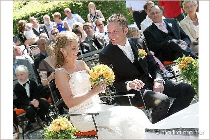 Hochzeitsfotograf bei der Trauung