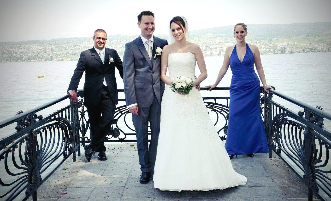 Hochzeitsfotograf am Zürichsee