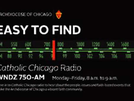 NFCRV on air with Chicago Catholic