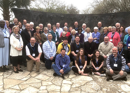 NFCRV executive director attends De Mazenod Conference