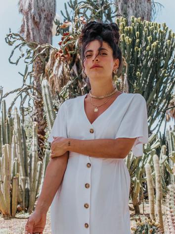 Cactus photoshoot for Silk & Salt