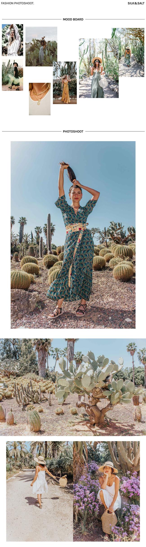 Cactus photoshoot
