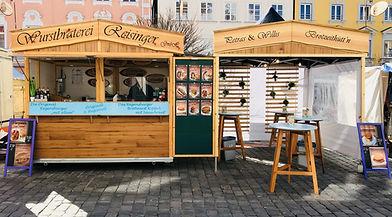 Wurstbraterei Reisinger älteste Wurstbraterei Regensburg mobiler Stand