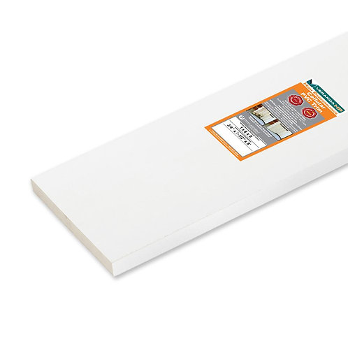 3/4 in. x 7-1/4 in. x 8 ft. High Performance Cellular PVC Trim