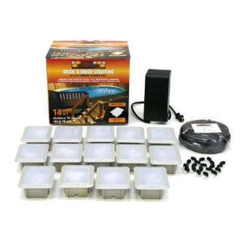 Deck/Dock-Mount 14-Light Outdoor Light Kit