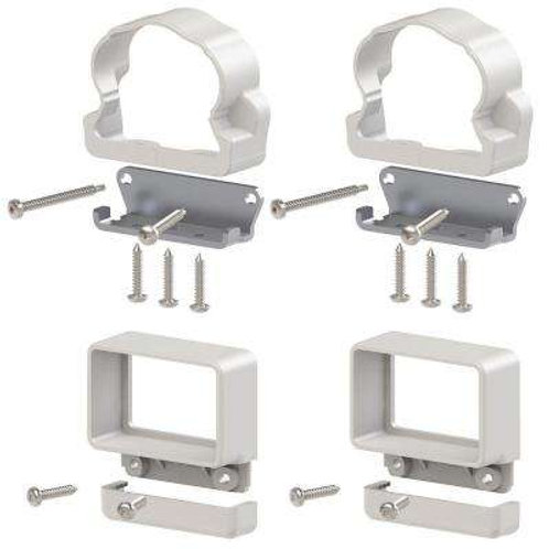 Vinyl Rail Line Bracket Kit (4-Pack)