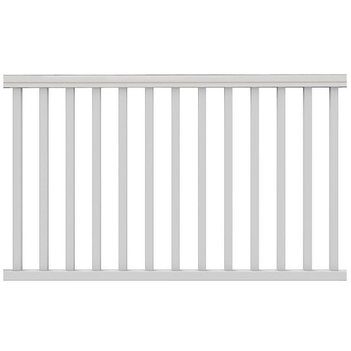 6 ft. x 36 in. Traditional Pre-Built Rail Kit without Brackets