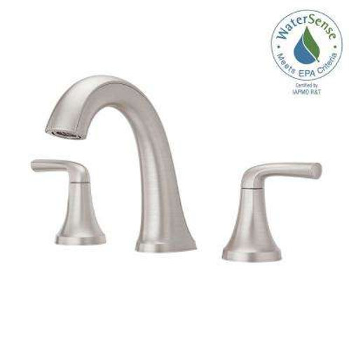 Pfister Ladera 8 in. Widespread 2-Handle Bathroom Faucet in Spot Defense Brushed