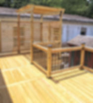 Pressure Treated Deck