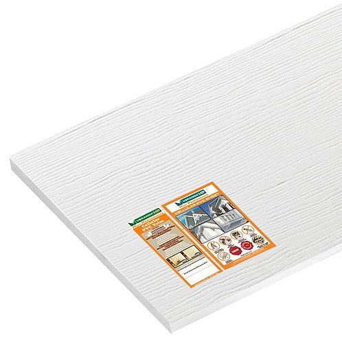 1/2 in. x 48 in. x 8 ft. White PVC Trim