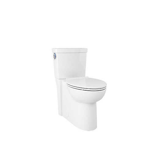 American Standard Clean ActiVate White WaterSense Labeled Touchless Elongated Cu