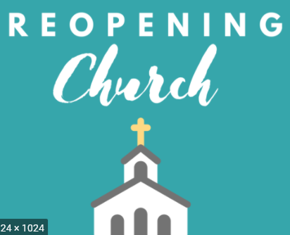 Reopening Churches - Revised Metrics February 24, 2021