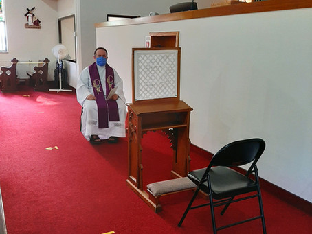 Reconciliation, Adoration & Readying Church for Reopening