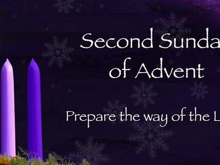 Second Sunday of Advent Bulletin - December 6, 2020