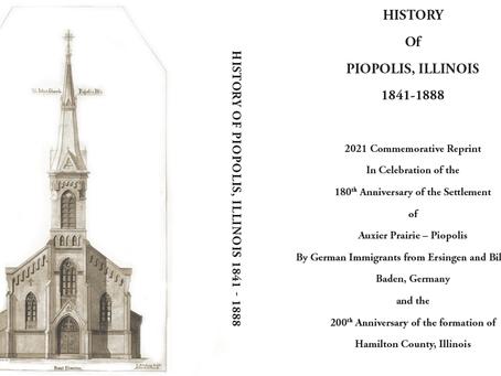 History of  Piopolis, Illinois:  1841-1888