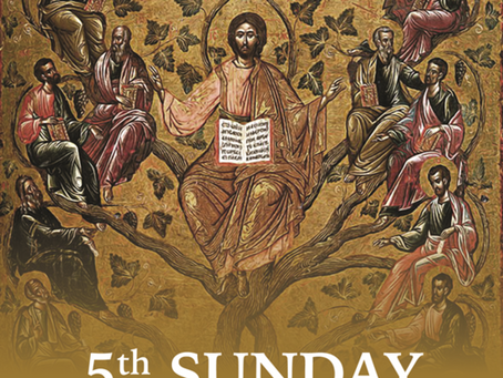 Fifth Sunday of Easter Bulletin - May 10, 2020