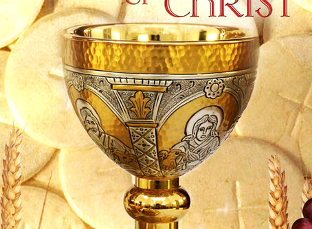 The Most Holy Body & Blood of Christ Bulletin - June 14, 2020