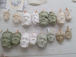 Handmade Paper Masks