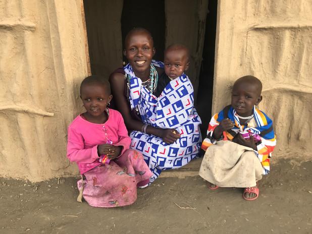 Masai Woman with children.JPG