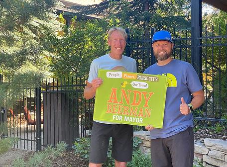 Andy Beerman & Mike Mendenhall