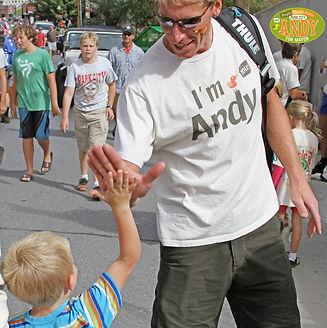 Mayor Andy High Five