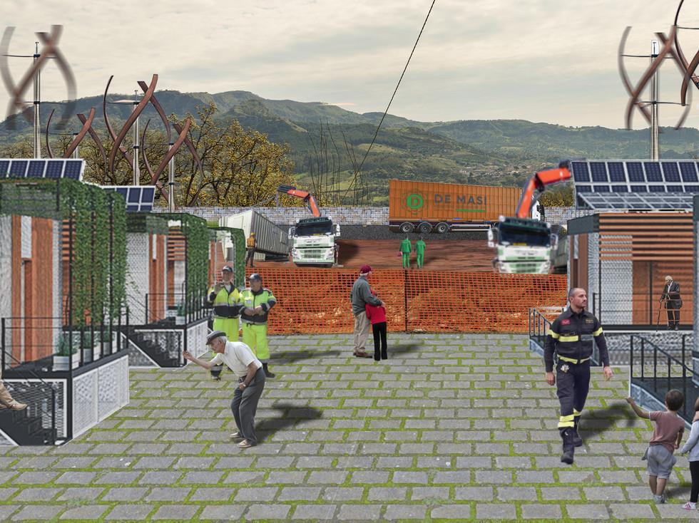 Emergency transition scenario
