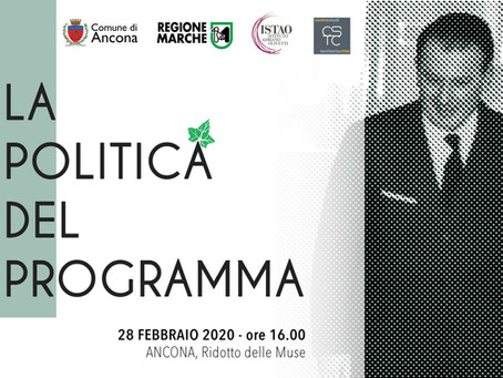 EVENTO RINVIATO | La politica del programma