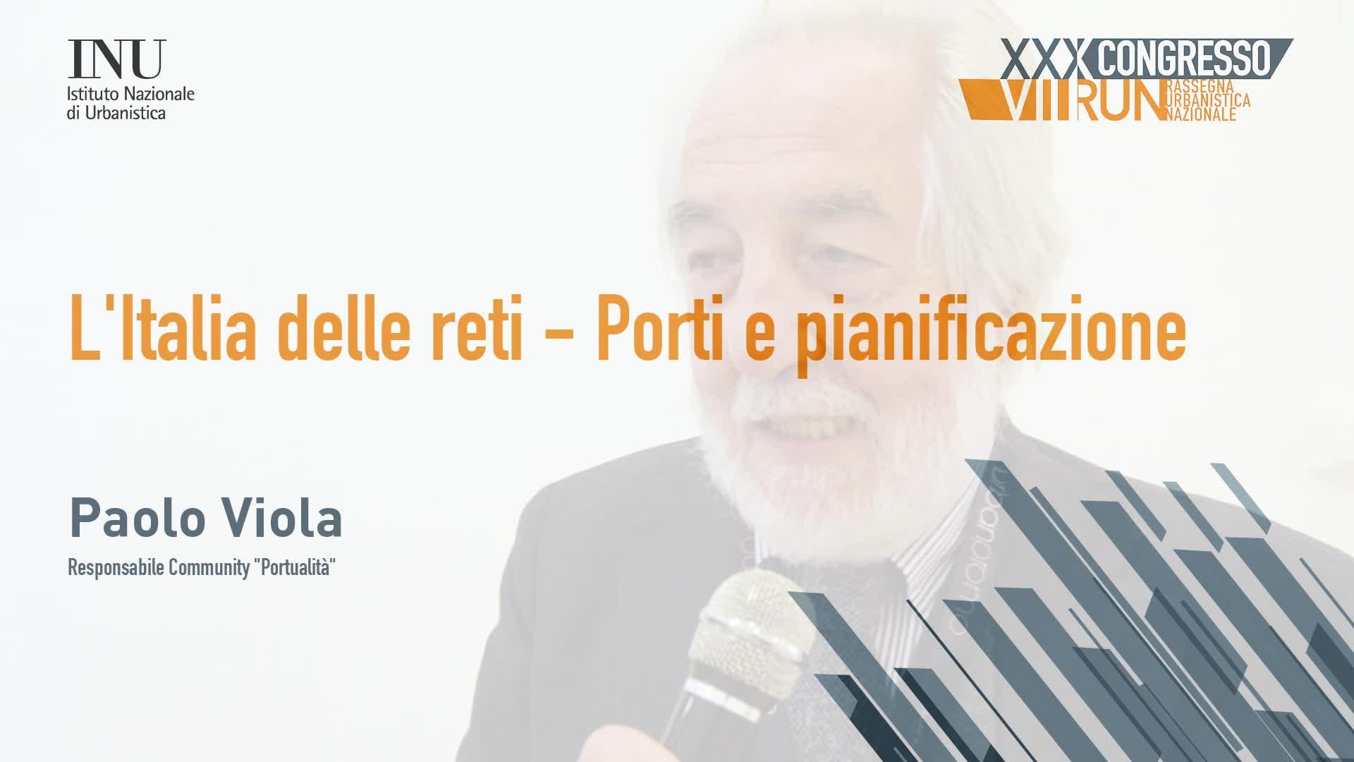 L'Italia delle reti: porti e pianificazione